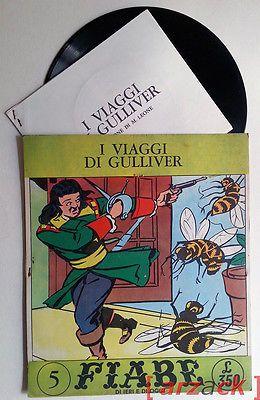 Fiabe di ieri e di oggi i viaggi di gulliver plaisir record disco 33