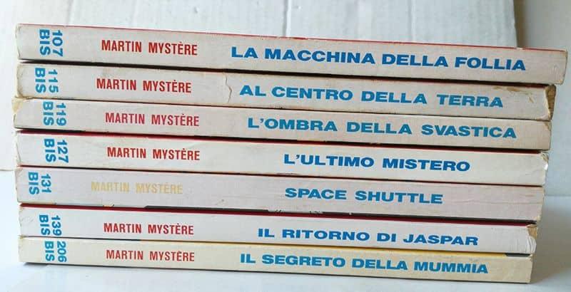 Martin Mystere bis bonelli