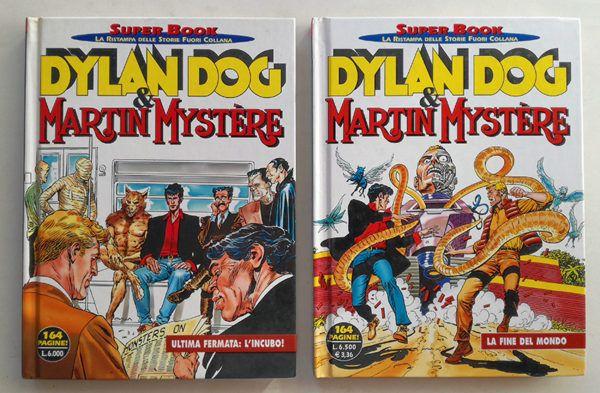Super book DYLAN DOG e MARTIN MYSTERE