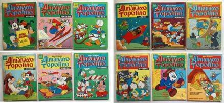 almanacco topolino 1966