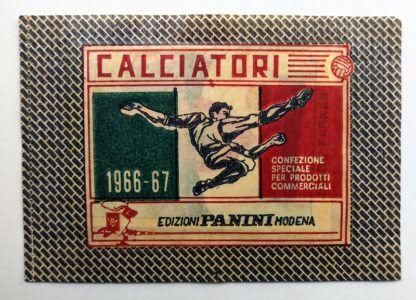 BUSTINA SIGILLATA CALCIATORI PANINI 1966