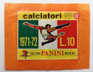 BUSTINA SIGILLATA CALCIATORI PANINI 1971
