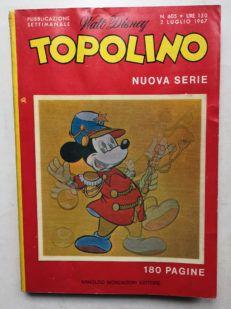 TOPOLINO LIBRETTO n 605