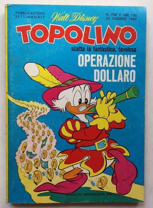 topolino libretto n 708