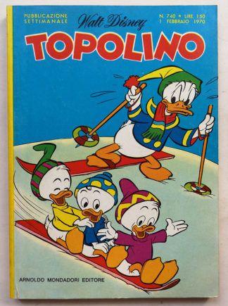 topolino libretto n 740