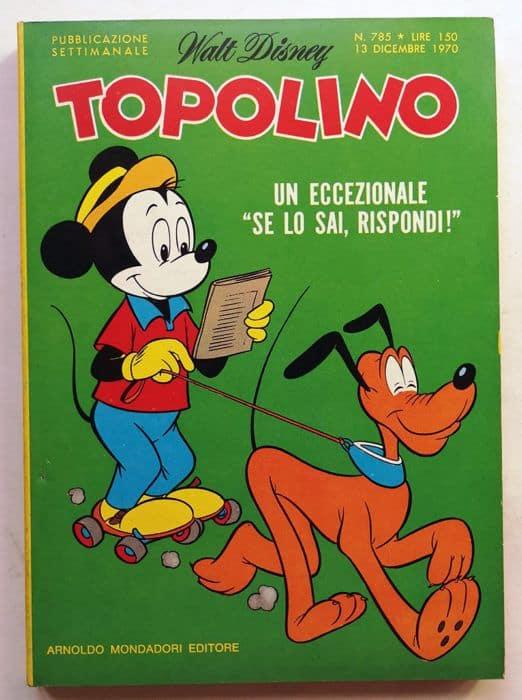 topolino libretto n 785