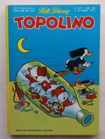 TOPOLINO LIBRETTO n 827