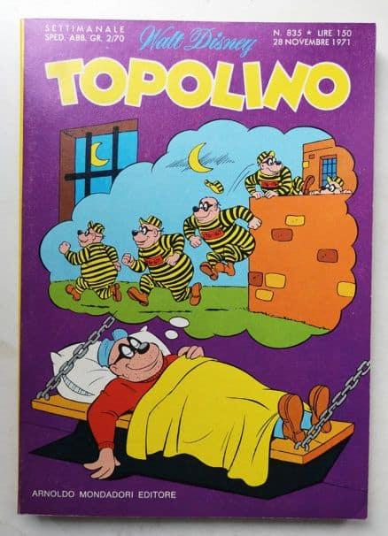 TOPOLINO LIBRETTO n 835