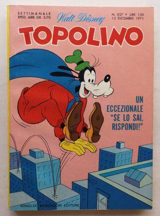 TOPOLINO LIBRETTO n 837