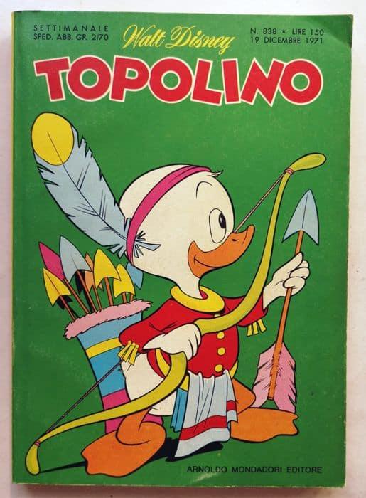 TOPOLINO LIBRETTO n 838