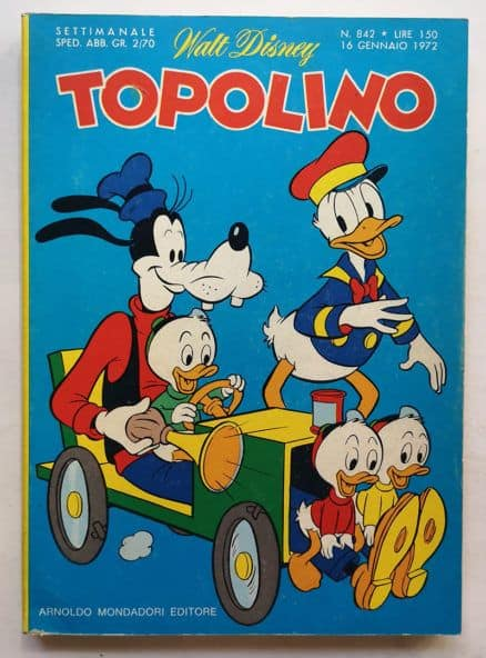 TOPOLINO LIBRETTO n 842