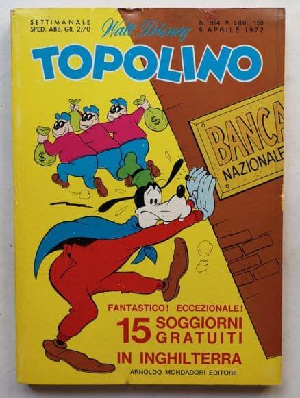 TOPOLINO LIBRETTO n 854