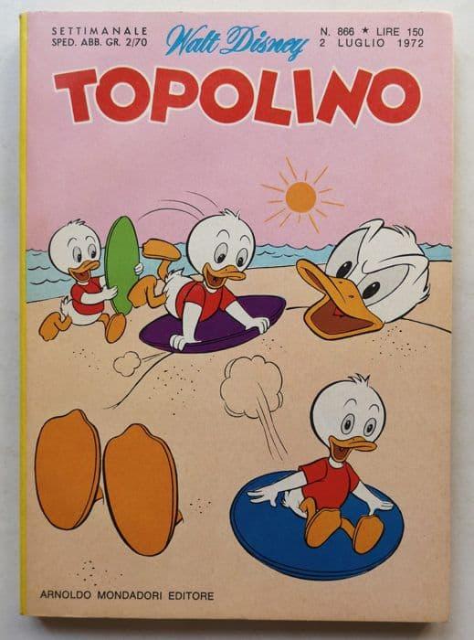 TOPOLINO LIBRETTO n 866