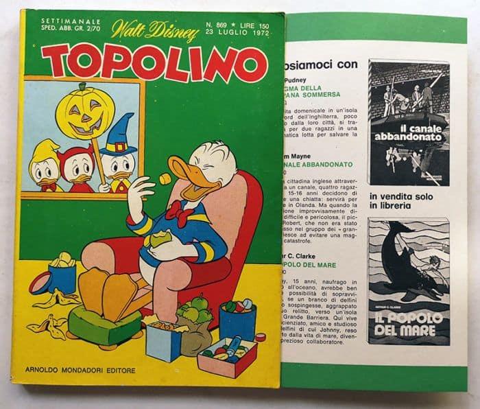 TOPOLINO LIBRETTO n 869