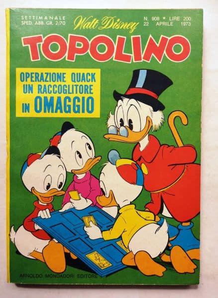 TOPOLINO LIBRETTO N 908