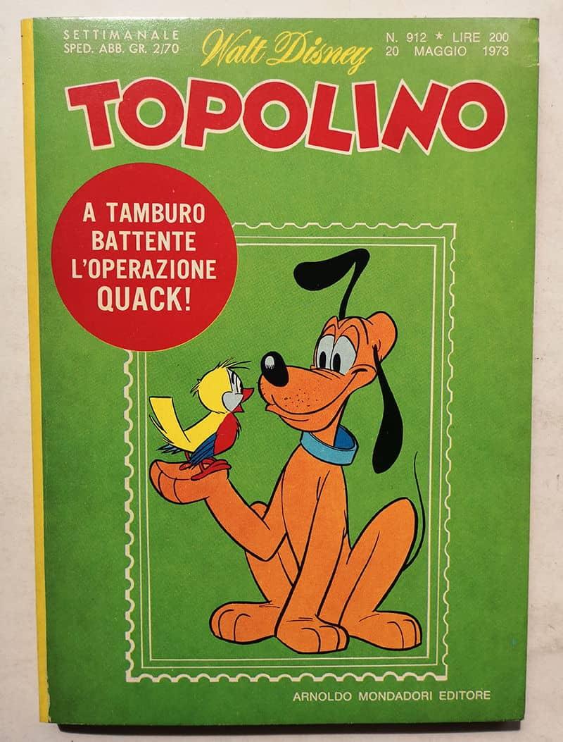 topolino libretto n 912