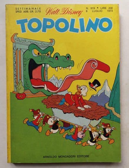 TOPOLINO LIBRETTO n 919