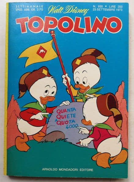 TOPOLINO LIBRETTO n 930