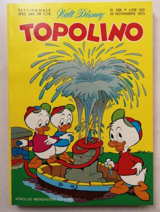 TOPOLINO LIBRETTO n 939