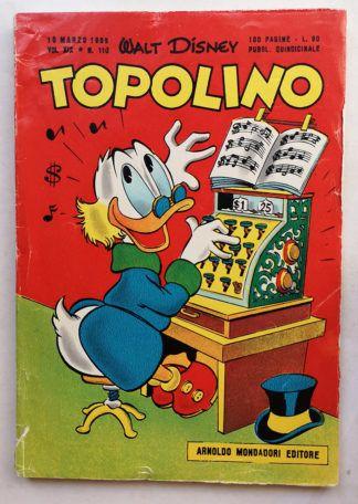 TOPOLINO LIBRETTO n 110