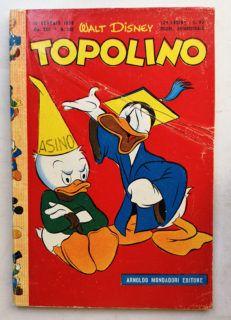TOPOLINO LIBRETTO n 130 Mondadori 1956
