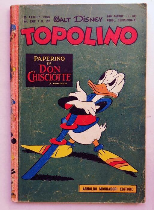 TOPOLINO LIBRETTO n 137