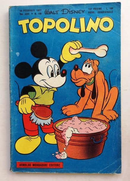 TOPOLINO LIBRETTO n 156