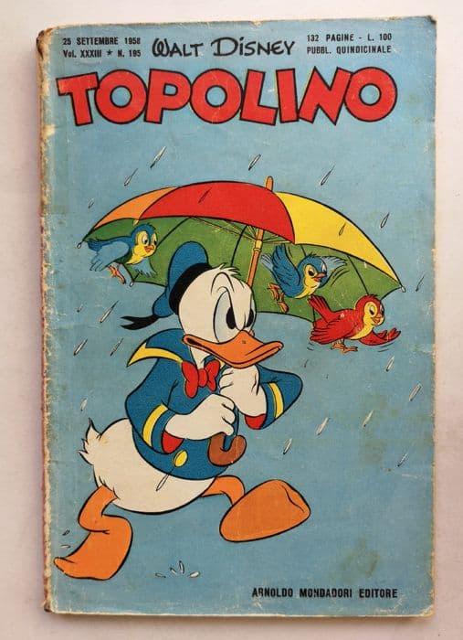 TOPOLINO LIBRETTO n 195
