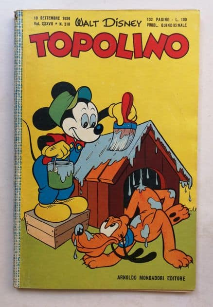 TOPOLINO LIBRETTO n 218