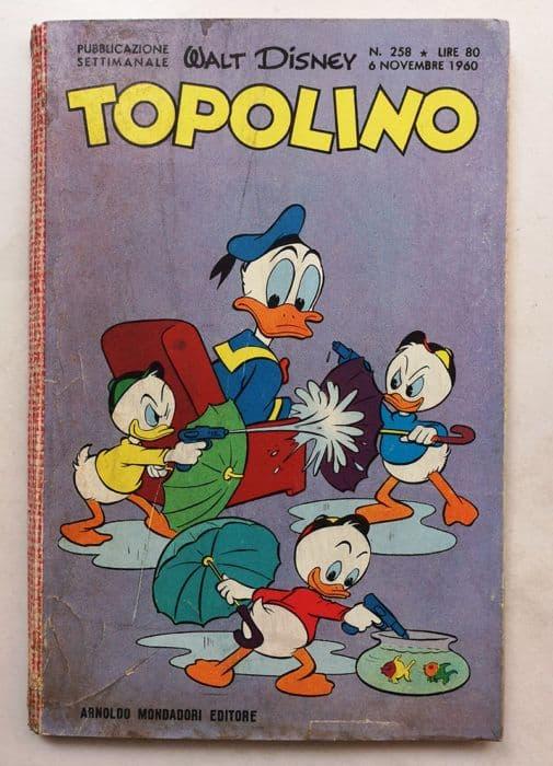 TOPOLINO LIBRETTO n 258