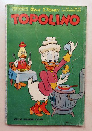 TOPOLINO LIBRETTO n 259