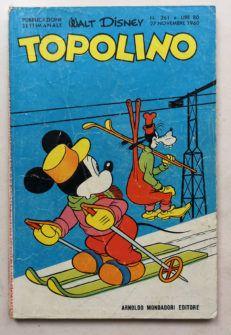 TOPOLINO LIBRETTO n 261