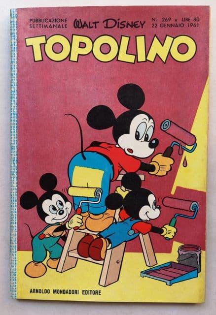 TOPOLINO LIBRETTO n 269