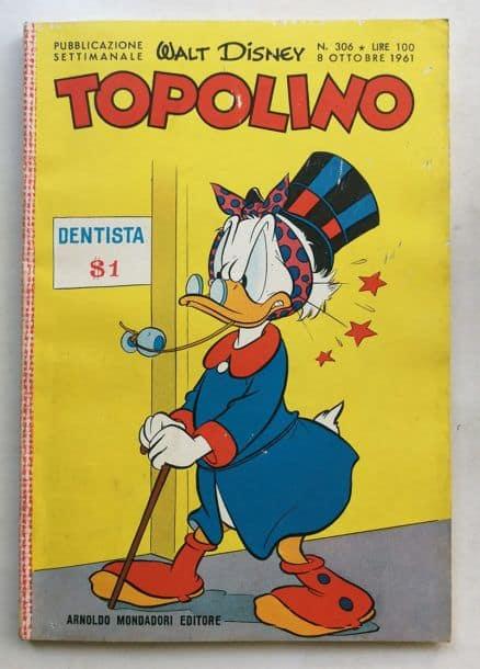 TOPOLINO LIBRETTO n 306