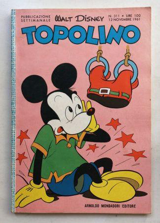 TOPOLINO LIBRETTO n 311