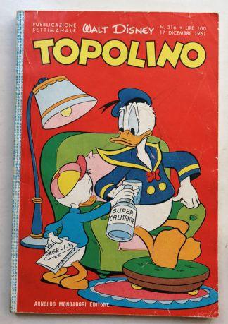 TOPOLINO LIBRETTO n 316