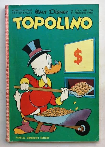 TOPOLINO LIBRETTO n 324