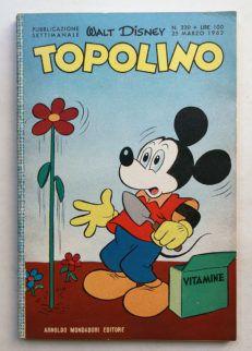 TOPOLINO LIBRETTO n 330