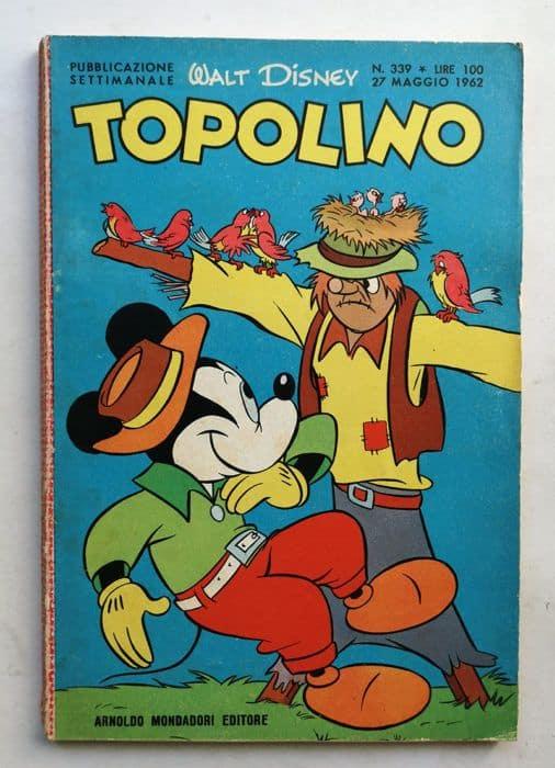 TOPOLINO LIBRETTO n 339