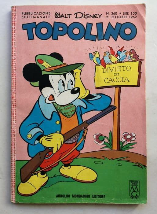 TOPOLINO LIBRETTO n 360
