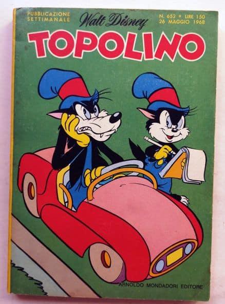 TOPOLINO LIBRETTO n 652