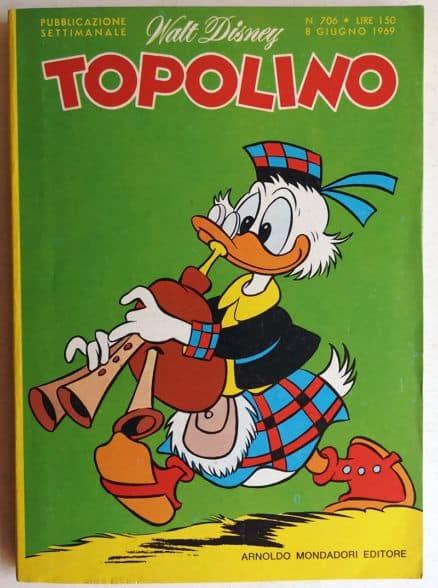 TOPOLINO LIBRETTO n 706