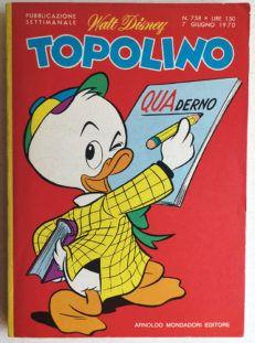 TOPOLINO LIBRETTO n 758