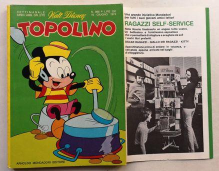 TOPOLINO LIBRETTO n 968