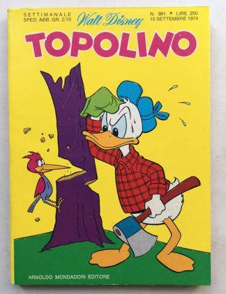 TOPOLINO LIBRETTO n 981