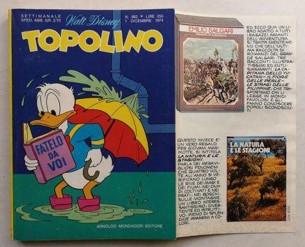 TOPOLINO LIBRETTO n 992
