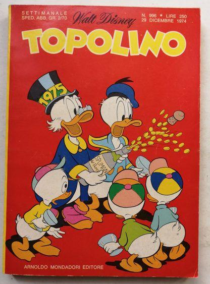 TOPOLINO LIBRETTO n 996
