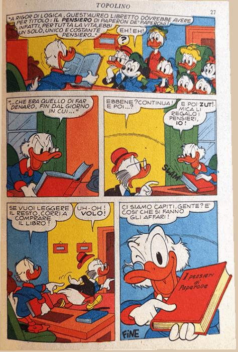 operazione quack pubblicità