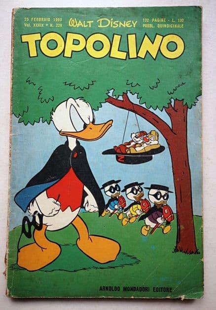 TOPOLINO LIBRETTO n 229