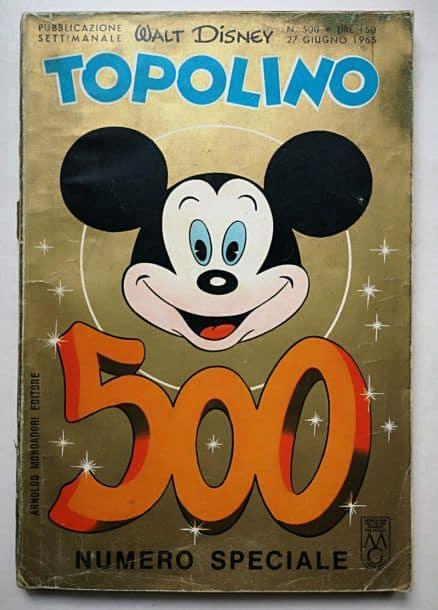 TOPOLINO LIBRETTO n 500
